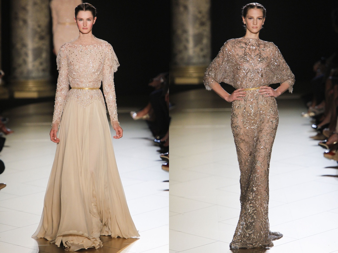 ElieSaab Gowns Collection for ladies 2013 2014