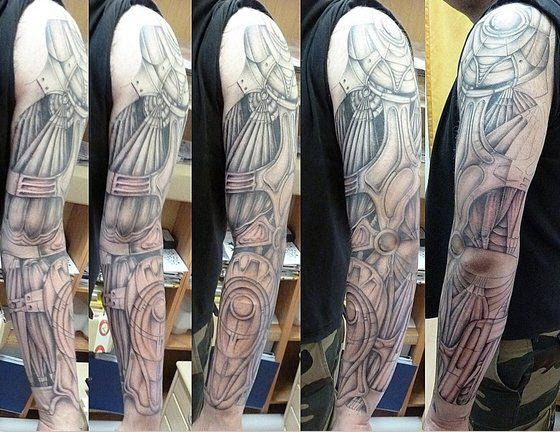 Full-arm-new-tattoo-design ideas 2013 2014