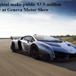 World Fastest and Most Stylish Sport Car Veneno-2013