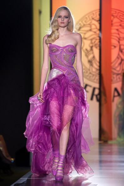 Versace-Latest-Fashion-Dress 2013 2014