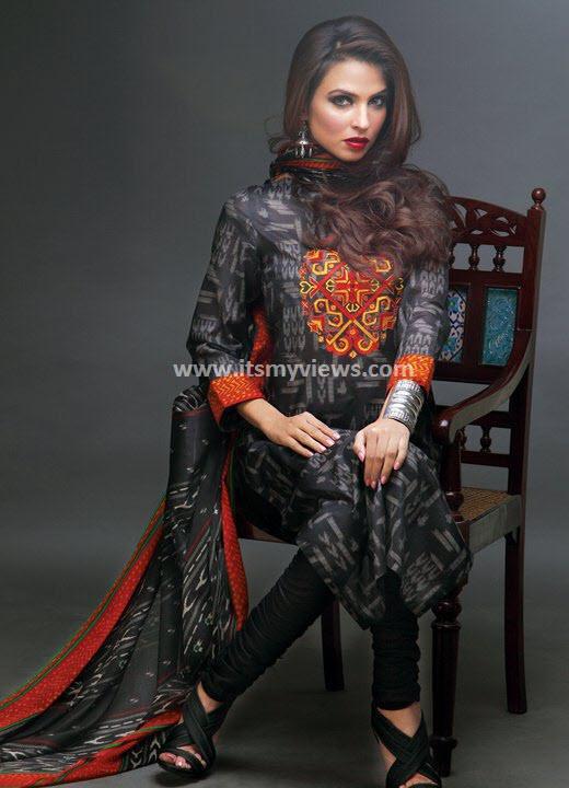 Latest Sana Safinaz Summer Lawn Print Designs 2013-2014 – itsmyviews.com