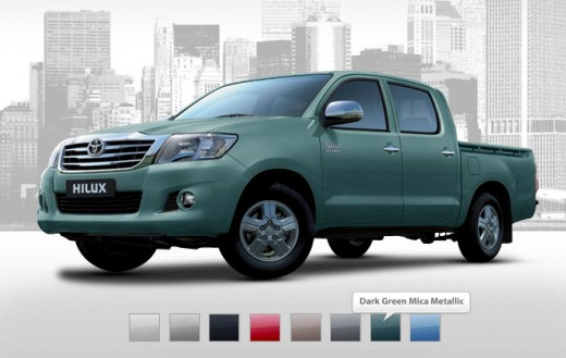 Dark-green-mica-metallic-new-hilux-2013 2014 picture with price