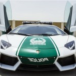 New Lamborghini Aventador Car Handed Over to Dubai Patrolling Police