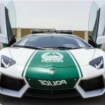 New Lamborghini Aventador Car Handed Over to Dubai Patrolling Police