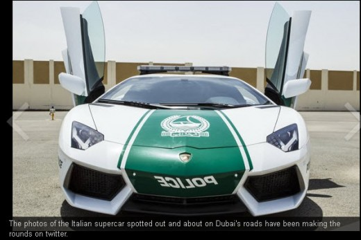 Dubai-Police-Lamborghini-car-Price and Specifications