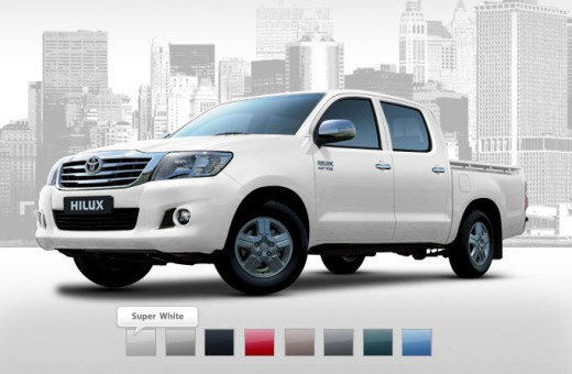 Toyota-Hilux-2013-2014-Super-white-color-in-dubai-singapore