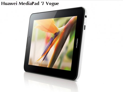 Huawei MediaPad 7 Vogue price in china