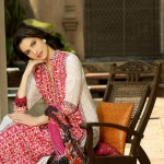 Latest Khaadi Lawn Print Designs for Woman and Kids 2013-2014