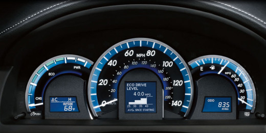 Toyotacamry2014-2015-Speed-meter-picture